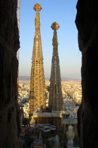 Aussicht von den Türmen der Sagrada